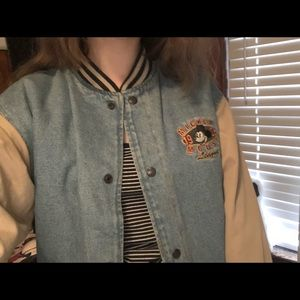 Vintage 1928 Mickey Mouse letterman